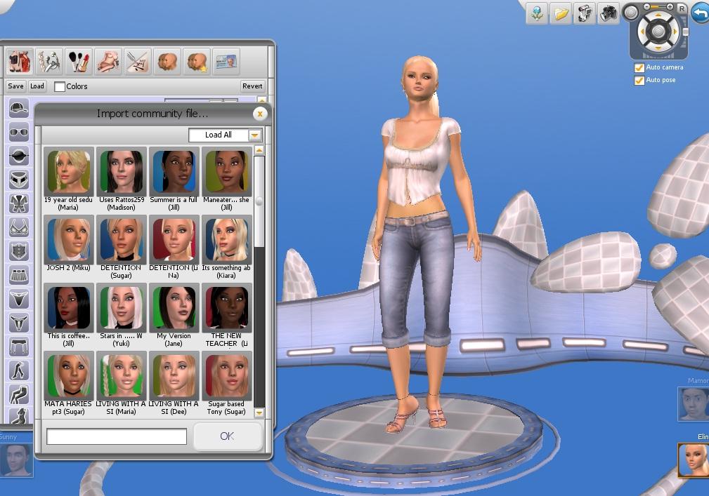 Дополнительный контент для игры 3d sexvilla 2.093.001 часть 1. Включает в с